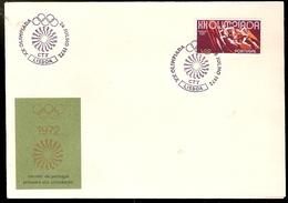 Portugal & FDC Olympic Games Munich, Lisbon 1972 (1158a)