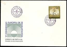 Portugal & FDC VI European Congress Of Rheumatology, Lisbon 1967 (1011)