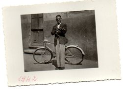 BICICLETTA UOMO E 1942 FOSSANO - Photos