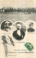 MANOEUVRES ARMEE 1913 SOUVENIR DU VOYAGE PRESIDENTIEL PRESIDENT POINCARE - Manovre