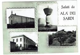 Saluti Da ALA DEI SARDI (Olbia)- Circulée 1967- Bon état - 2 Scans - Italy