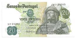 Bank Of Portugal - 20 Escudos - Effigy, Garcia De Orta - 1971 Banknote Billet De Banque Billete De Banco Nota De Banco - Portugal