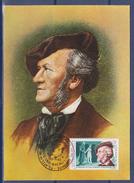 = Richard Wagner Romana Bacau 20.11.83 Collaboration Culturelle Economique Inter-Européenne - Maximumkaarten