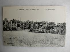 MILITARIA - ARRAS - 1919 - La Grande Place - War 1914-18