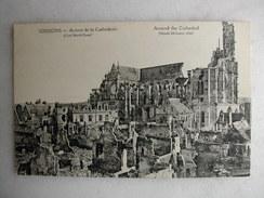MILITARIA - SOISSONS - Autour De La Cathédrale - War 1914-18