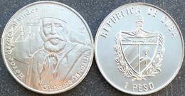 Cuba 1 Peso 2007 Giuseppe Garibaldi Italian Heroe De Dos Mundos UNC - Cuba