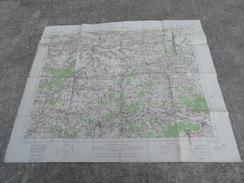 1914 1918 Carte D'état Major Anglaise War Office Anglais Soissons - 1914-18