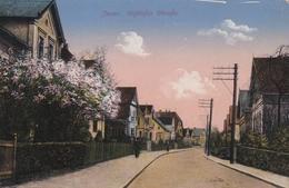 Jever Schlosser Strasse Feldpostkarte 1917 - Jever