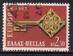 Greece 1968 - Eurostamps