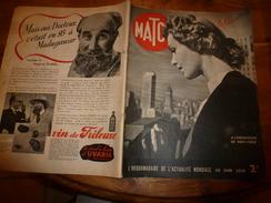 1939 MATCH:Croiseur US OMAHA à Villefranche; Amour De Cigogne; Stars Et Beautés;Le Danseur NIJINSKY; Etc.... - Magazines & Papers