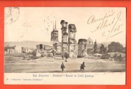 IAL-34  Mendoza Mendosa Ruinas De Santo Domingo. Pionier. Used To France In 1905, Editora Belgrano Buenos Aires - Argentine