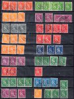 1930 - 1943, Série Courante Lion Et Chiffre, Paysage, Selon Scan, Oblitéré, Lot 47184