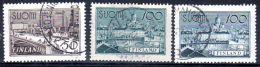 1942/ 58  Série Courante, YT 251 + 252 + 475, Oblitéré, Lot 47185