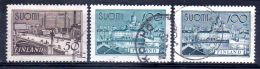 1942/ 58  Série Courante, YT 251 + 252 + 475, Oblitéré, Lot 47186