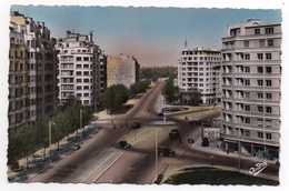 CPSM - GRENOBLE - PLACE GUSTAVE RIVET - Colorisée - Ann 50 - - Grenoble