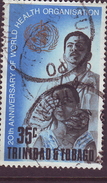 Trinida & Tobago - 1968 - SG 330 - 35c 20th Anniv Of WHO; Doctor Giving Eye-test - Used (B014)