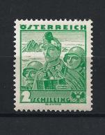 AUSTRIA 1934) - Costumi - UNIF. N. 458 MLH - Ungebraucht