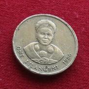Swaziland 1 Lilangeni 1986 KM# 44.1 Swasiland Swazilandia Suazilandia - Swaziland