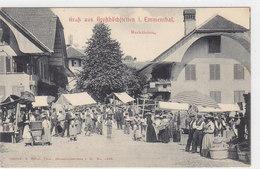 Gruss Aus Grosshöchstetten I. Emmenthal - Marktleben - 1909     (P21-20305) - BE Berne