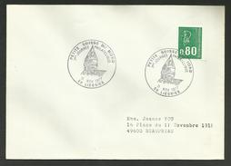 59 - NORD / 1ère Journée Philatélique / LIESSIES 1977 - Poststempel (Briefe)
