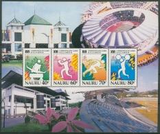 Nauru 1998 Commonwealth-Spiele In Kuala Lumpur Block 20 Postfrisch (C72960)