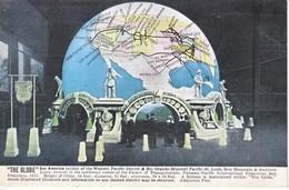 U.S.   PAN  PACIFIC  EXPO.  1915  *  SAN  FRANCISCO  RAILROAD  GLOBE - Universal Expositions