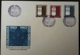 FDC PORTUGAL - Coloquios Dos Simples De Garcia D' Orta - Lisboa, 1964 - FDC