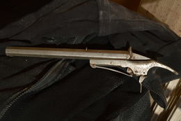 Pistolet De Salon Type Flobert - 5,5 Mm Bosquette - 19 ème - Armes Neutralisées