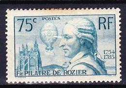 FRANCE 1936 YT N° 313 * - Unused Stamps
