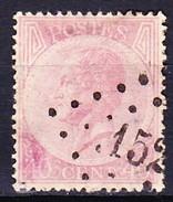 BELGIQUE 1865-66 YT N° 20 Obl.