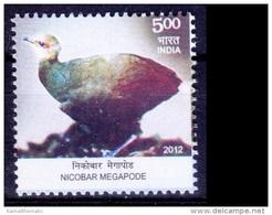 Nicobar Megapode, Birds, India 2012 MNH