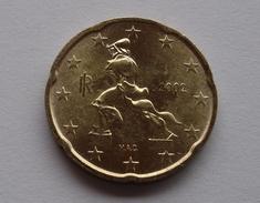 N. 62 ERRORE EURO !!! 20 CT. 2002 FDC ITALIA R EVANESCENTE !!! - Errores Y Curiosidades