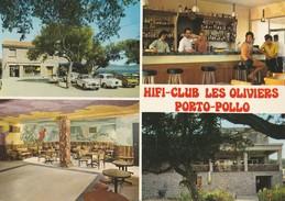 660/16  - 1 Carte - Porto-Pollo - Hifi Club Des Oliviers - Bar Discothèque