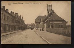 Comines Belgique La Gare Et La Rue Du Chemin De Fer - Comines-Warneton - Komen-Waasten