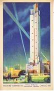 U.S.   CENTURY  OF  PROGRESS  1933  (o)  HAVOLINE  OIL  TALLEST  THERMOMETER - Universal Expositions
