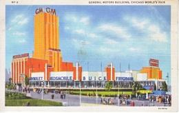 U.S.   CENTURY  OF  PROGRESS  1933  *  GENERAL  MOTORS BUILDING - Universal Expositions