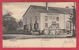 Tintigny - La Fontaine ... Boutique-horlogerie-bijouterie Henri Moulu - 190? ( Voir Verso ) - Tintigny