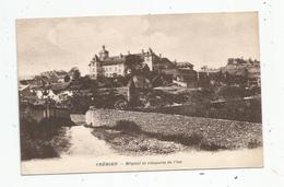 Cp , 38 , CREMIEU , Hôpital Et Remparts De L'est , Voyagée - Crémieu