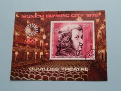 XXth POLYMPIC GAMES MUNICH 1972 - Cuvillies Theatre ( Details, Zie Foto's Met Vergrotingen ) ! - Yemen