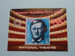 XXth POLYMPIC GAMES MUNICH 1972 - National Theatre ( Details, Zie Foto's Met Vergrotingen ) ! - Yemen