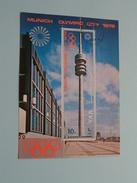 MUNICH OLYMPIC CITY 1972 - Olympic Tower ( Details, Zie Foto's Met Vergrotingen ) ! - Yemen