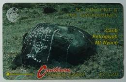 ST VINCENT & THE GRENADINES - GPT - 5CSVB - $20 - Carib - STV-5B - Used - St. Vincent & The Grenadines
