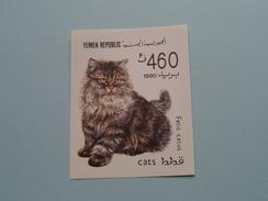 CATS Felis Catus - 1990 ( Details, Zie Foto's Met Vergrotingen ) ! - Yemen