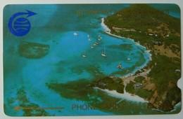 ST VINCENT & THE GRENADINES - GPT - D3 Specimen - $20 - Admiralty Bay