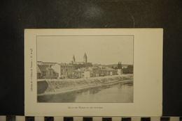 CP, 71, Abbaye De Tournus,  Quai Du Nord Vu Du Sud Est, RARE - Other Municipalities