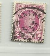 (597) Timbre Belgique Roi Albert I   N° 200 - 30c - 1922-1927 Houyoux