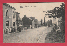 Aiseau - Grand'Rue ... Animée - 1914 ( Voir Verso ) - Aiseau-Presles