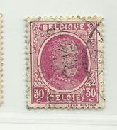 (614) Timbre Belgique Roi Albert I   N° 200 - 30c - 1922-1927 Houyoux