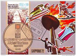 7219 Guinea Equatorial 1972 Olimpiadi Invernali SAPPORO Cerimonia Apertura