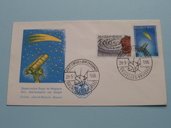 AIR Et ESPACE - LUCHT En KOSMOS Observatoire / Sterrenwacht - Bruxelles 28-5-1966 ( Zie Foto ) !